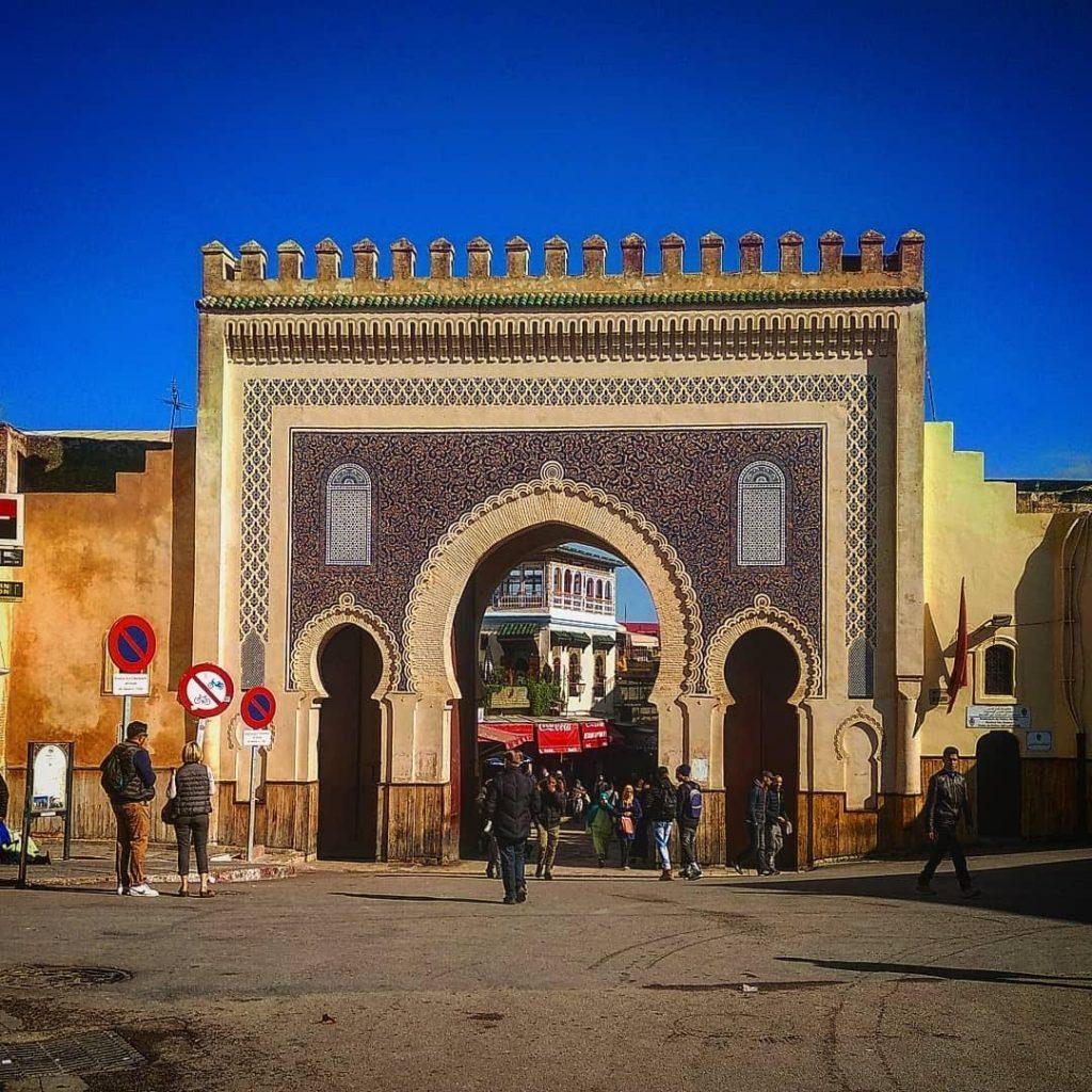 Puerta Bab Bou Jeloud, Fez